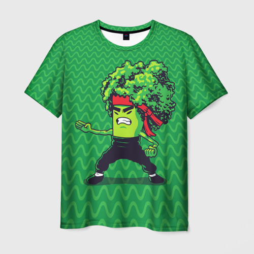 Мужская футболка 3D Брокко Ли