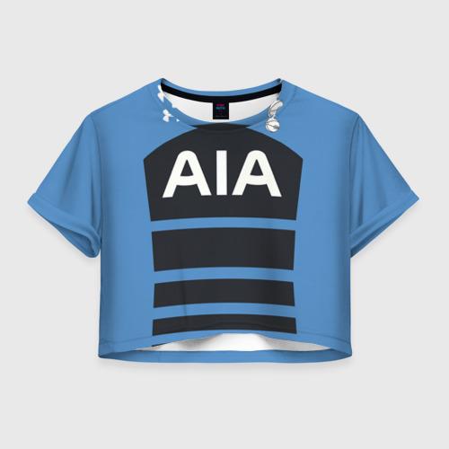 Женская футболка Crop-top 3D Тоттенхэм Хотспур форма