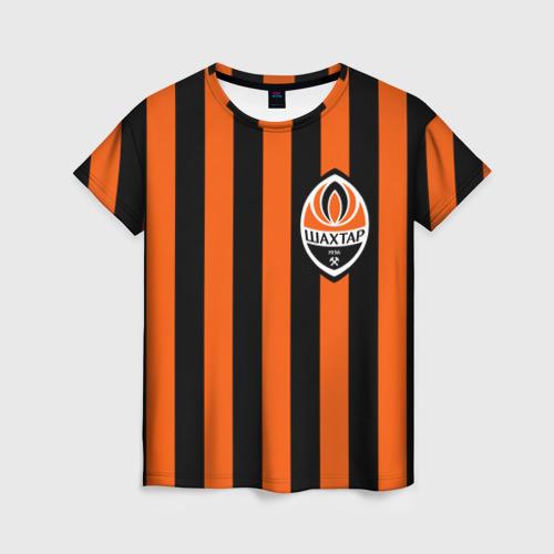Женская футболка 3D ФК Шахтер Донецк