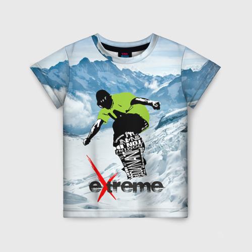 Детская футболка 3D Extreme