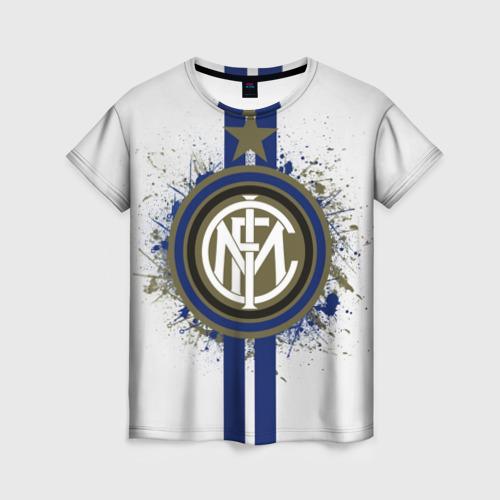Женская футболка 3D Internazionale