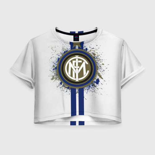 Женская футболка Crop-top 3D Internazionale