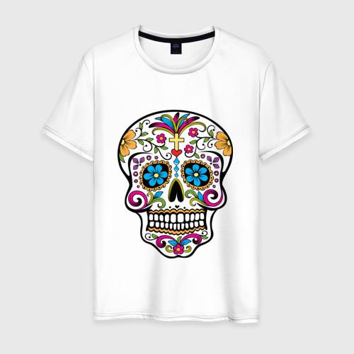 Мужская футболка хлопок День Мертвых