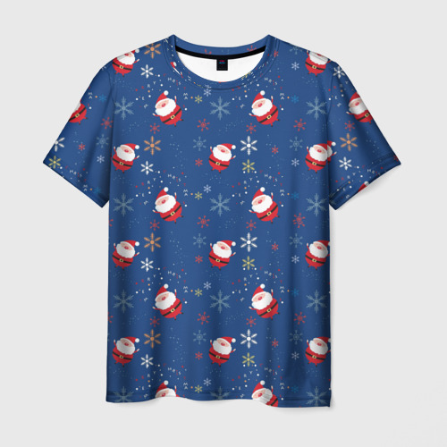 Мужская футболка 3D Рождество