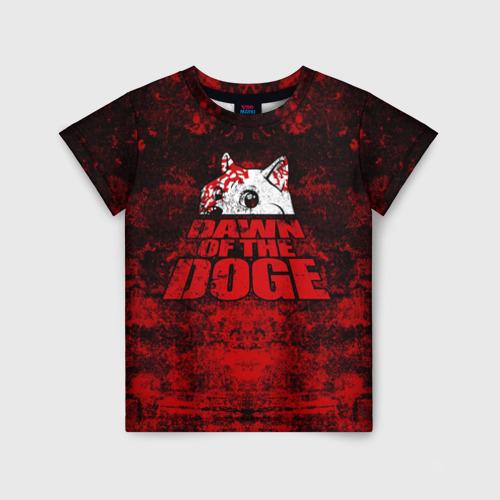 Детская футболка 3D Dawn of the Doge