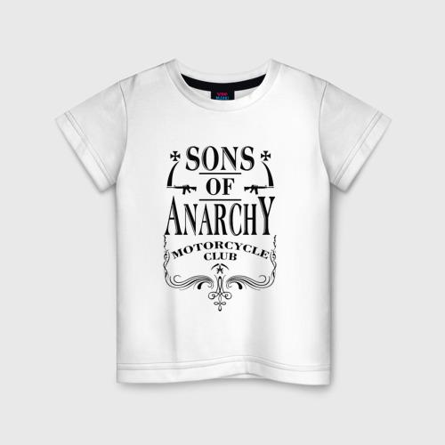 Детская футболка хлопок Сыны Анархии Whiskey