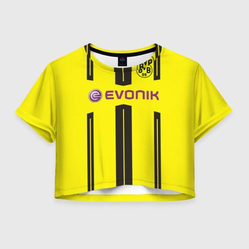 Женская футболка Crop-top 3D Марко Ройс (форма)