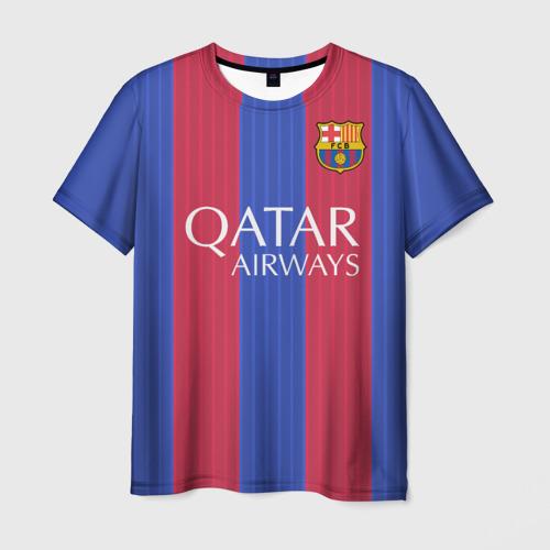 Мужская футболка 3D Neymar (форма)