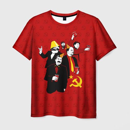Мужская футболка 3D Communist Party