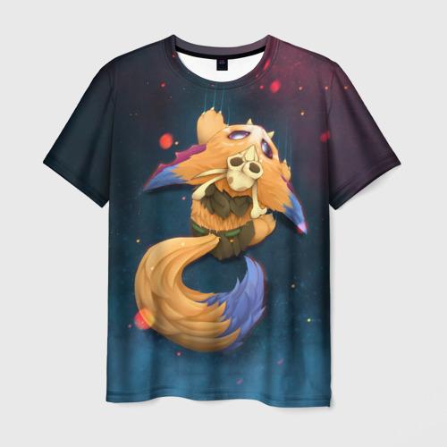 Мужская футболка 3D Лис