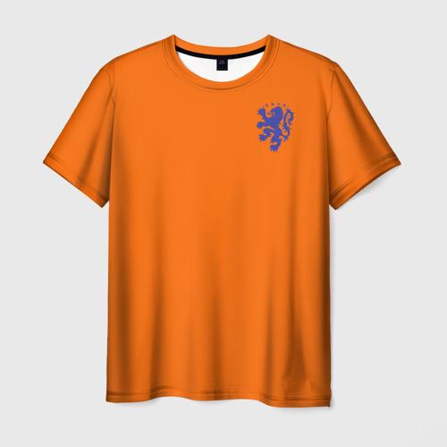 Мужская футболка 3D Сборная Голландии