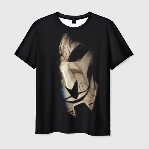 Мужская футболка 3D Маска
