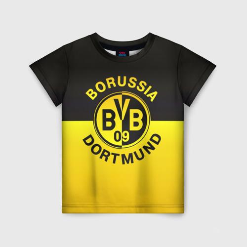 Детская футболка 3D Borussia Dortmund FC