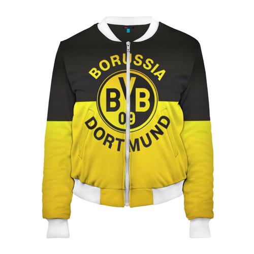 Женский бомбер 3D Borussia Dortmund FC