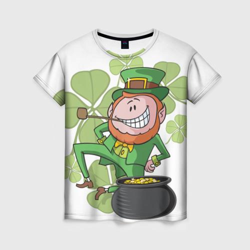Женская футболка 3D Ирландия