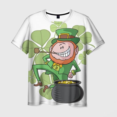 Мужская футболка 3D Ирландия