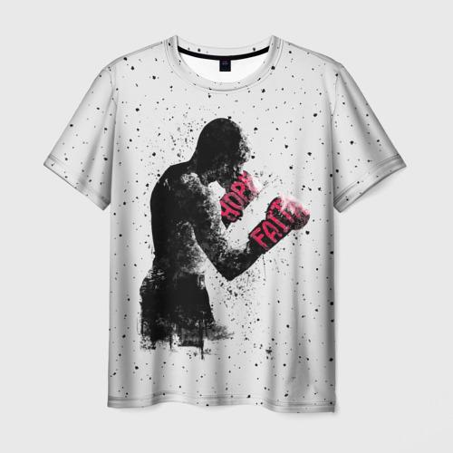 Мужская футболка 3D Hope Faith