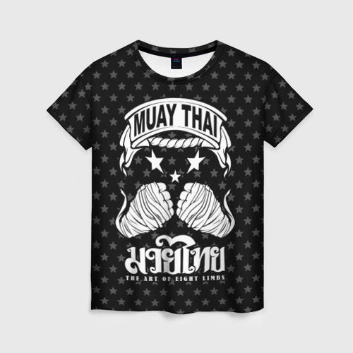 Женская футболка 3D Muay Thai Killer