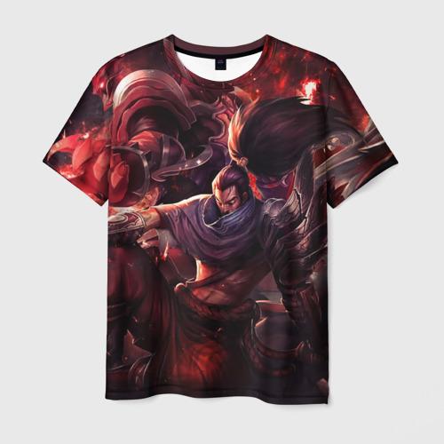 Мужская футболка 3D Red