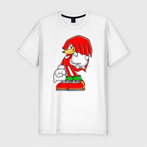 Мужская футболка хлопок Slim Ехидна Наклз