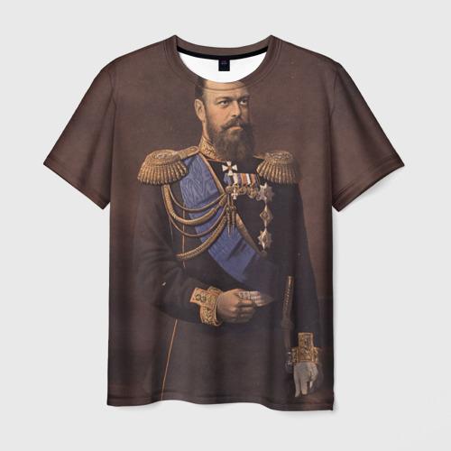 Мужская футболка 3D Александр III Миротворец