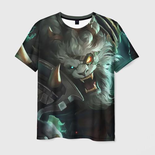 Мужская футболка 3D Ренгар