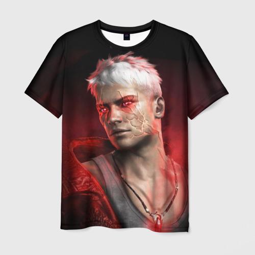 Мужская футболка 3D Young Devil
