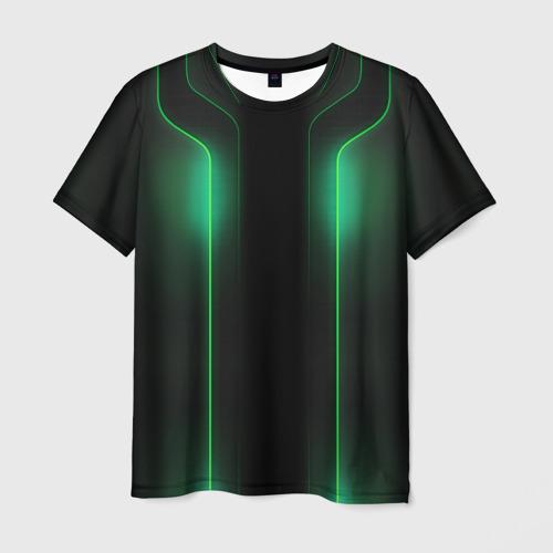 Мужская футболка 3D Luxury style by VPPDGryphon