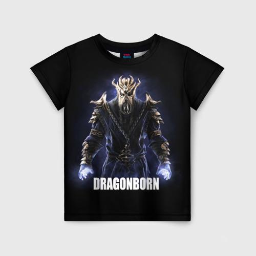 Детская футболка 3D Dragonborn