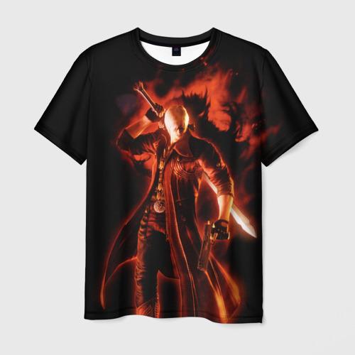 Мужская футболка 3D Devil May Cry