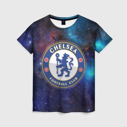 Женская футболка 3D Челси