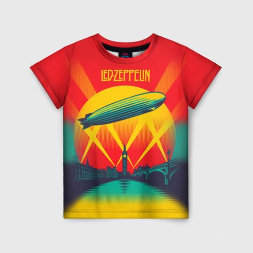 Детская футболка 3D Led Zeppelin 3