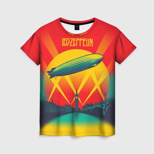 Женская футболка 3D Led Zeppelin 3