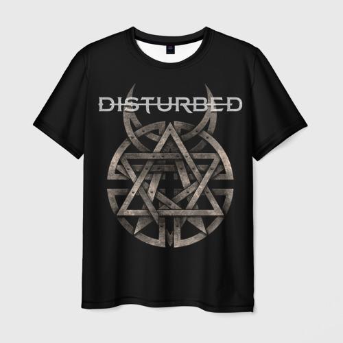 Мужская футболка 3D Disturbed 2