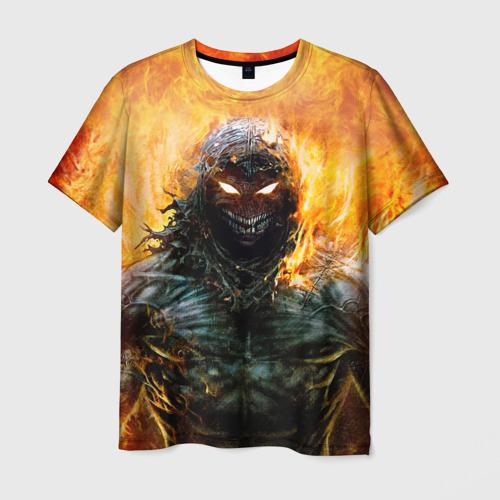 Мужская футболка 3D Disturbed 7