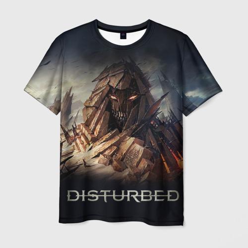 Мужская футболка 3D Disturbed 8