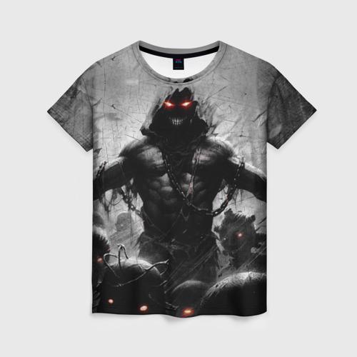 Женская футболка 3D Disturbed 9