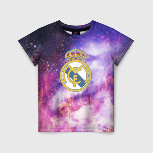 Детская футболка 3D Реал Мадрид