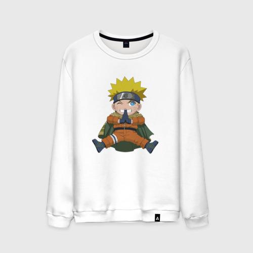 Мужской свитшот хлопок Naruto Uzumaki winter