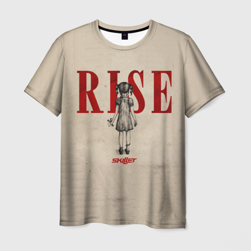 Мужская футболка 3D Rise