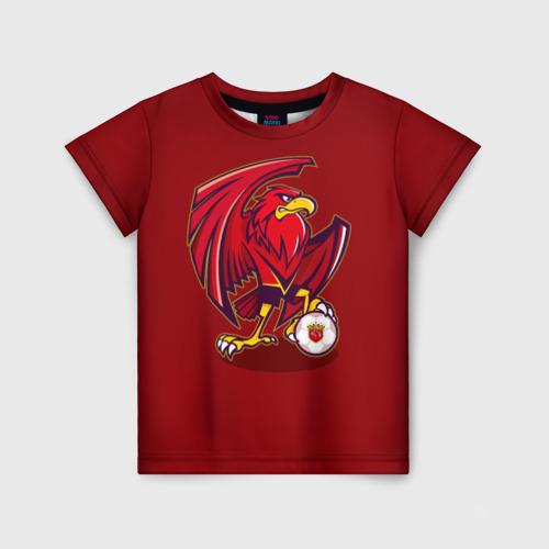 Детская футболка 3D Шанхай