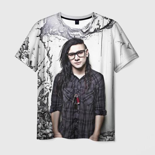 Мужская футболка 3D Скрилс