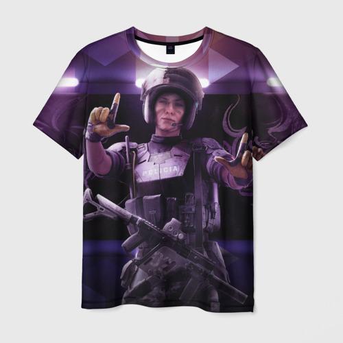 Мужская футболка 3D Tom Clancy's Rainbow Six: Sieg