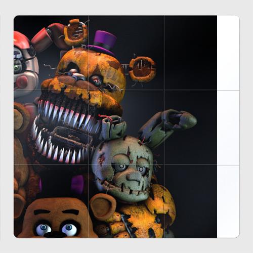 Магнитный плакат 3Х3 Five Nights At Freddy's