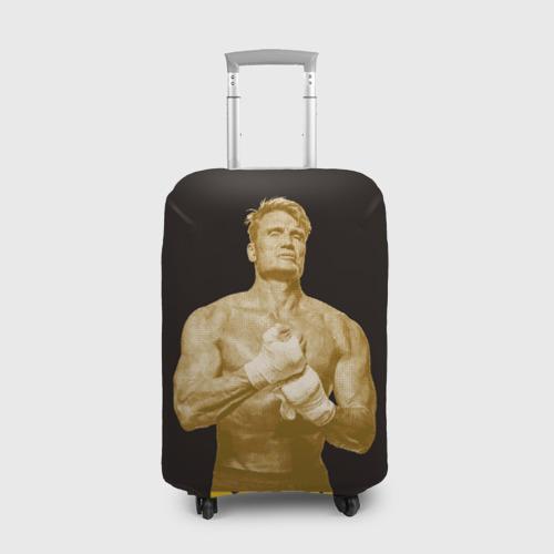 Чехол для чемодана 3D Дольф Лундгрен