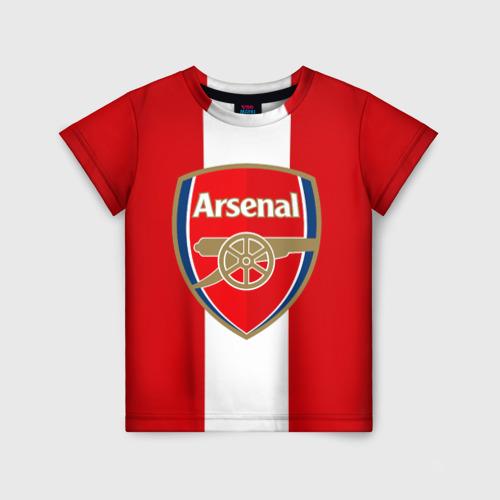 Детская футболка 3D Арсенал