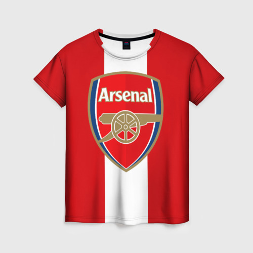 Женская футболка 3D Арсенал