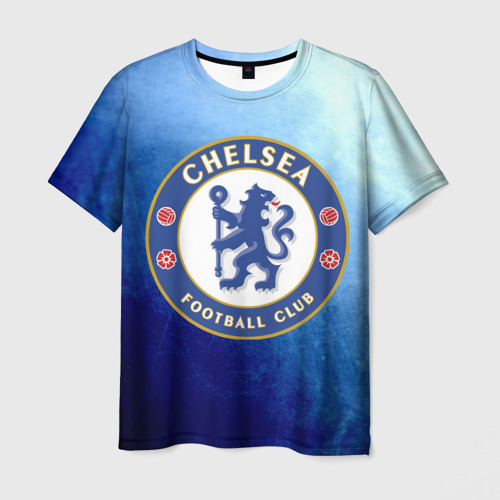Мужская футболка 3D Челси