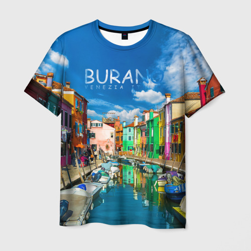 Мужская футболка 3D Бурано