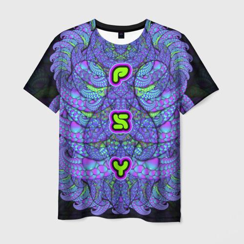 Мужская футболка 3D PSY xx2